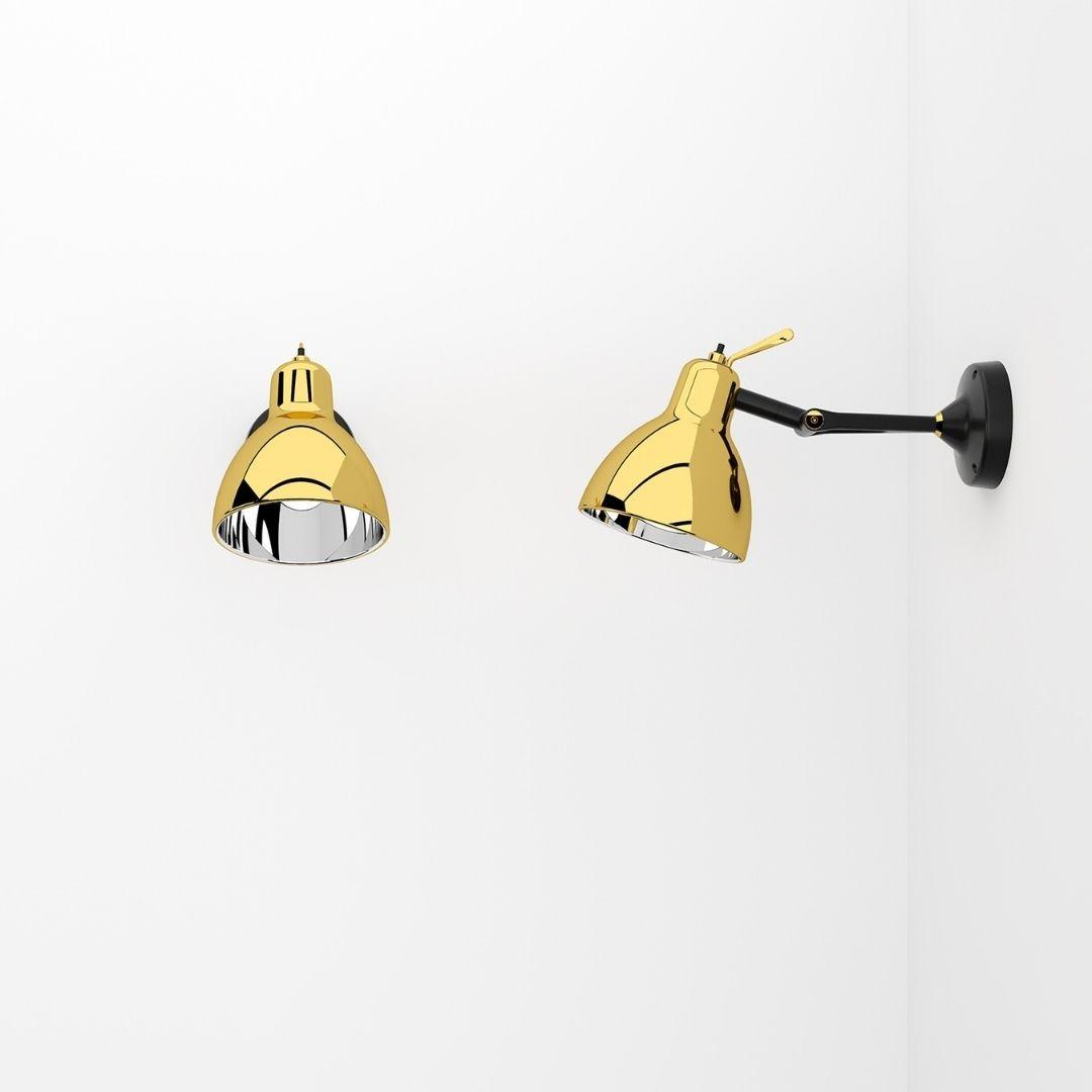 Køb Luxy Glam H0 Væg / Loftlampe Guld – Rotaliana