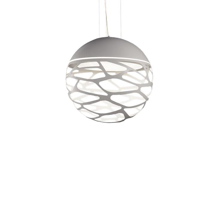 Kelly small sphere pendel hvid udstillingsmodel før 6795,- fra lampefeber på luxlight.dk