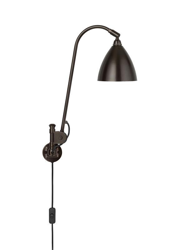 bestlite – Bl6 væglampe mat sort/sort messing - bestlite på luxlight.dk