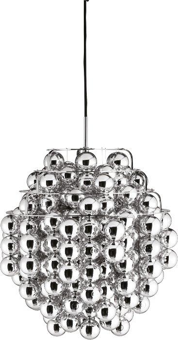 verpan – Ball pendel silver - verpan på luxlight.dk