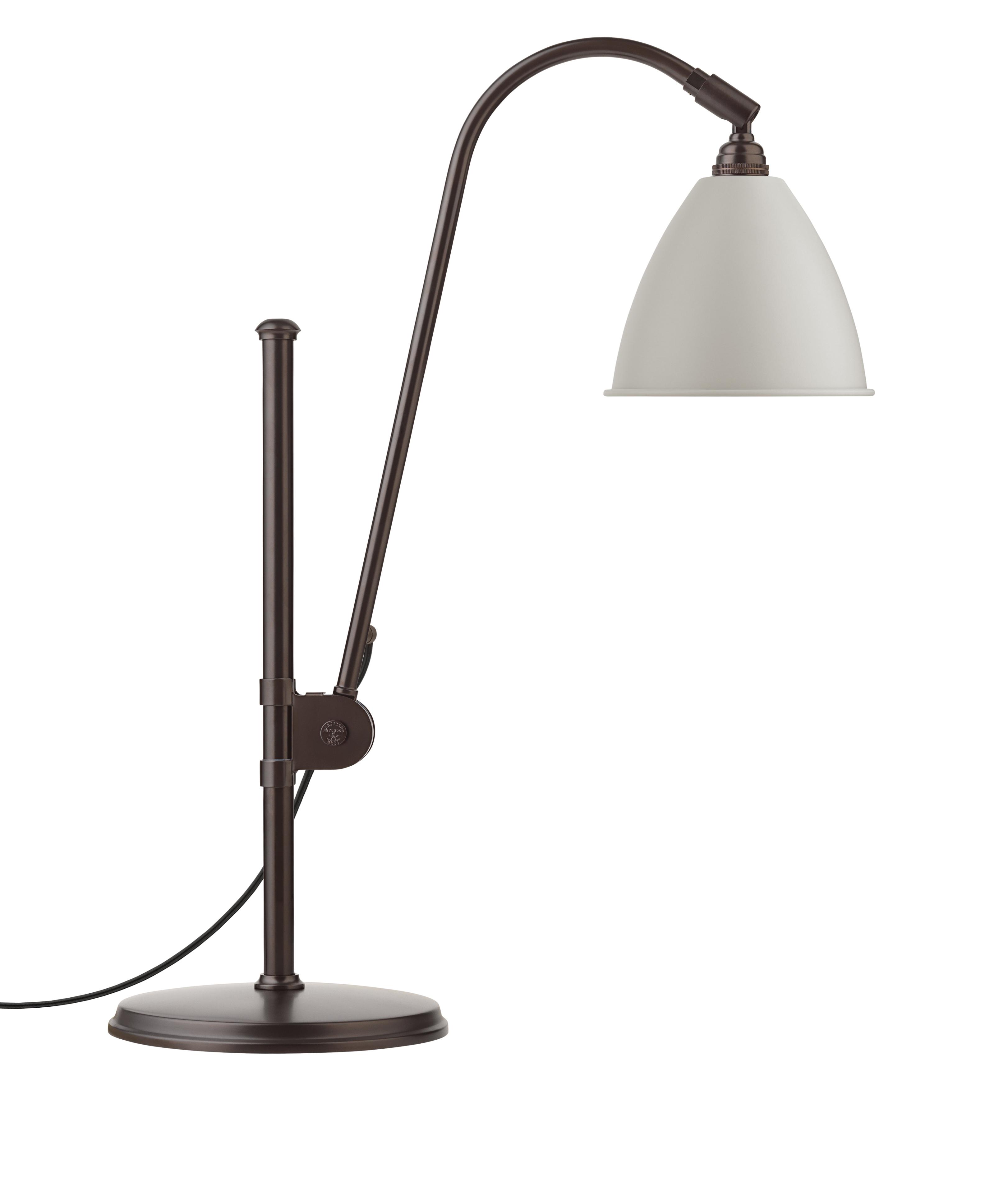 Billede af BL1 Bordlampe Hvid/Sort Messing - Bestlite
