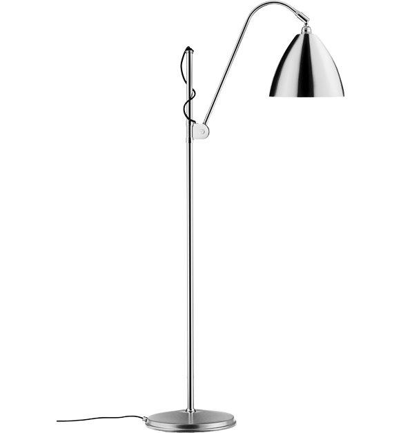 bestlite – Bl3 m gulvlampe krom - bestlite fra luxlight.dk