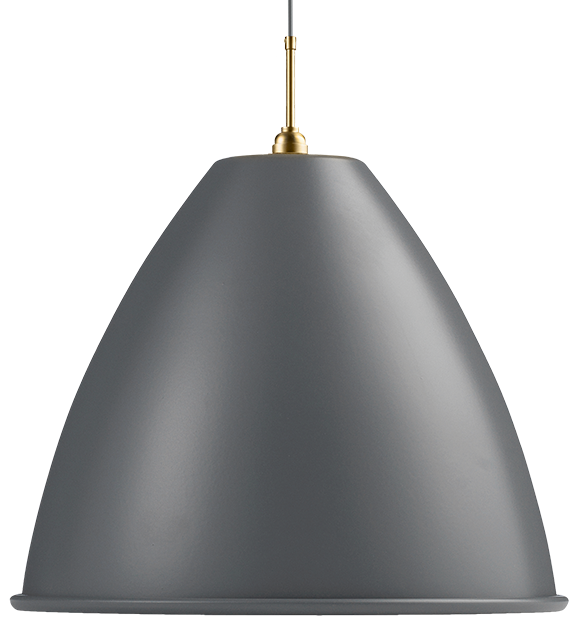 bestlite Bl9xl pendel grå/messing - bestlite på luxlight.dk