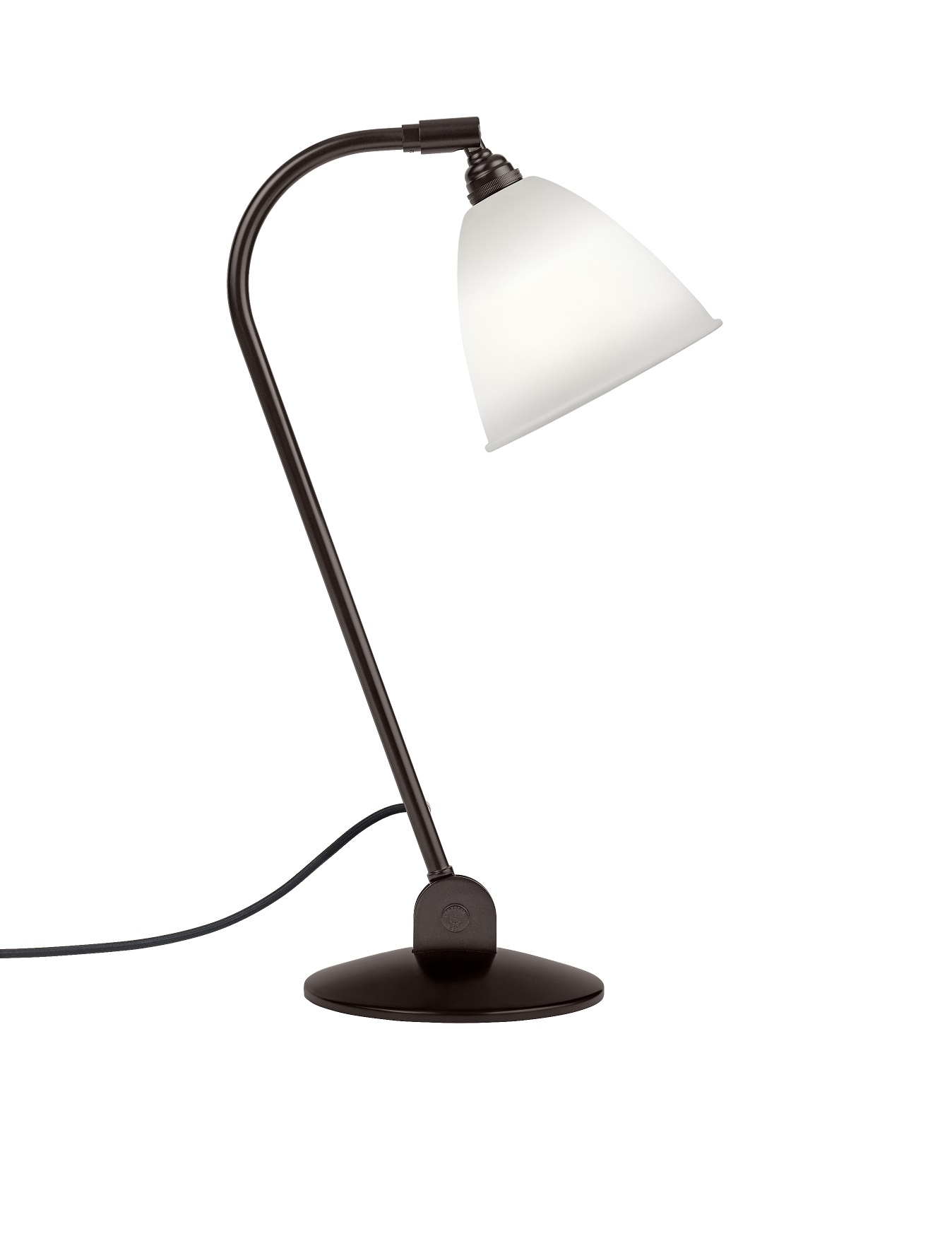 Billede af BL2 Bordlampe China Bone/Sort Messing - Bestlite