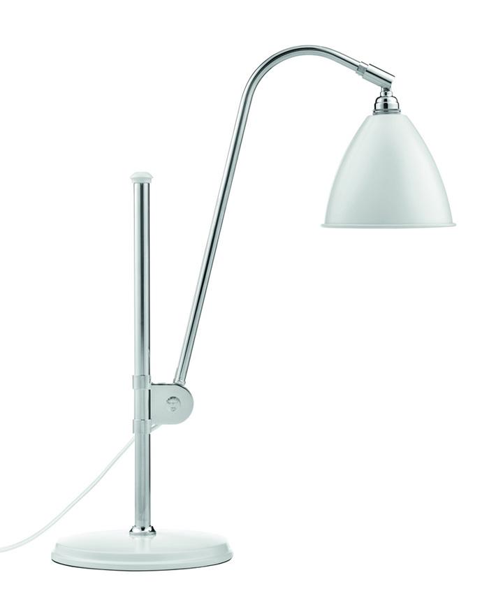 Billede af BL1 Bordlampe Mat Hvid/Krom - Bestlite