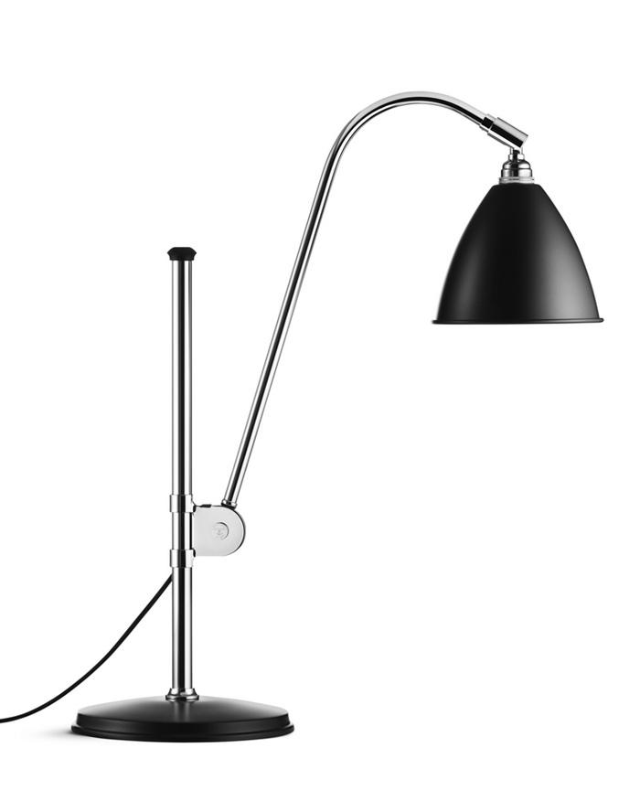 Billede af BL1 Bordlampe Mat Sort/Krom - Bestlite