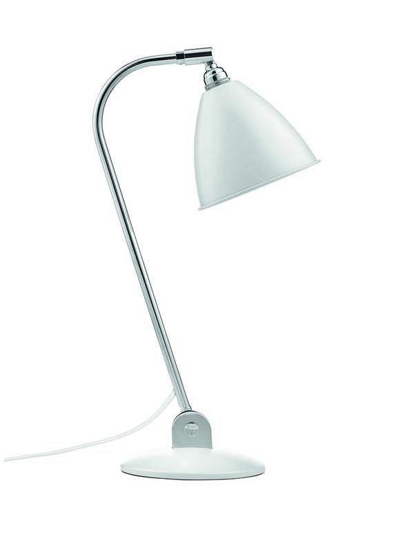 Billede af BL2 Bordlampe Mat Hvid/Krom - Bestlite
