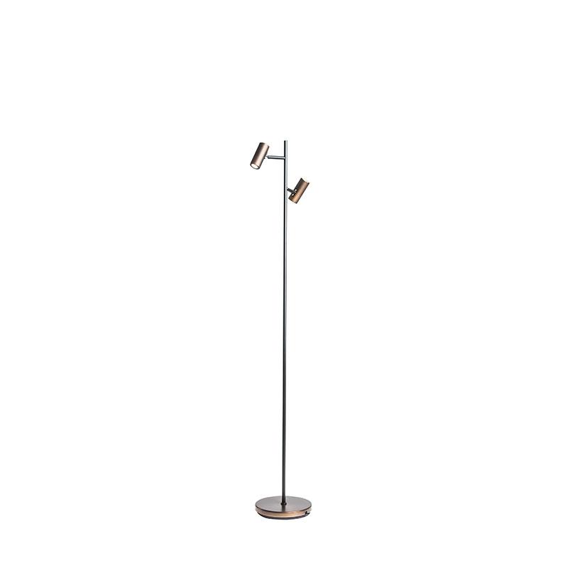 belid – Cato led gulvlampe  oxideret - belid fra luxlight.dk
