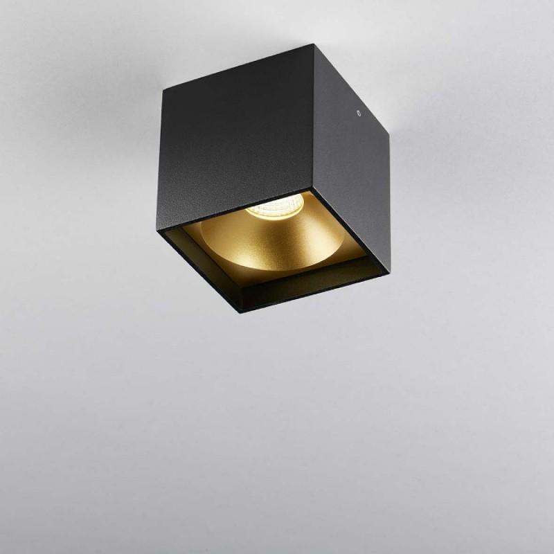 SoloSquareLoftlampeSortGuld3000KLIGHTPOINT-30
