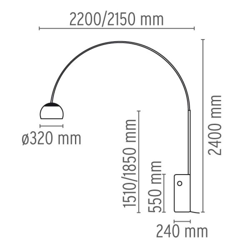 ArcoGulvlampeCromeFlos-00