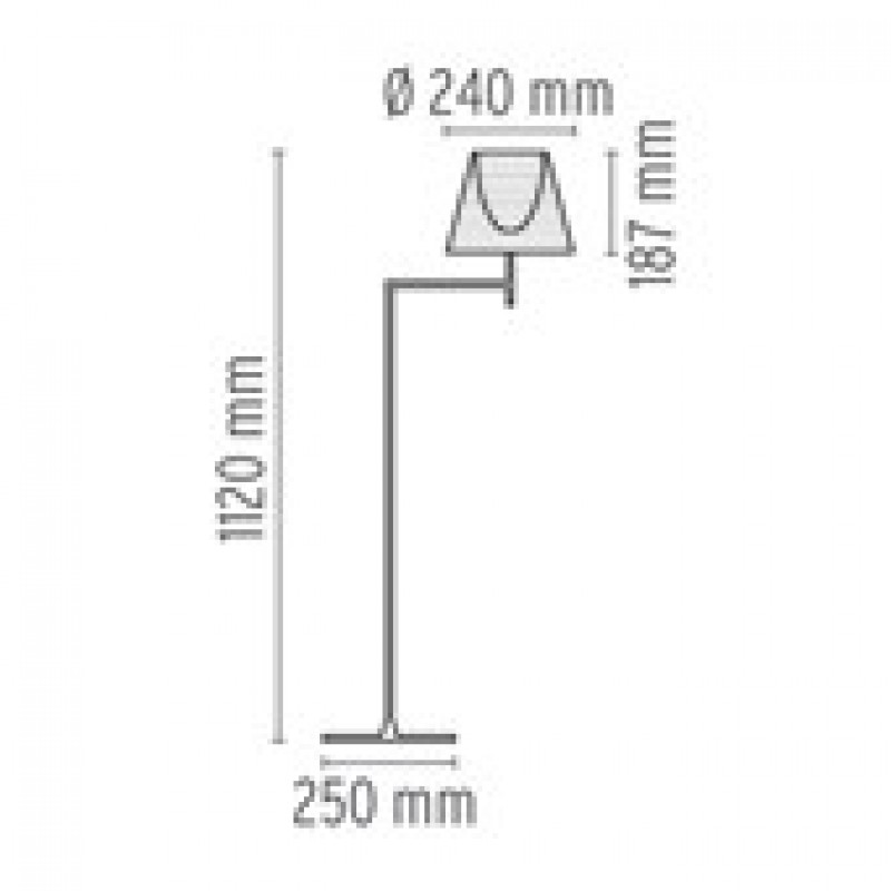 KTribeF1GulvlampeCremeStofFlos-00
