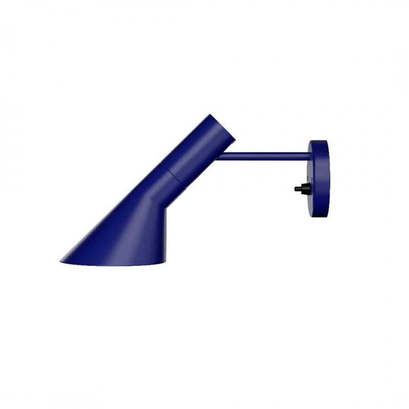Natblå AJ væglampe fra Louis Poulsen