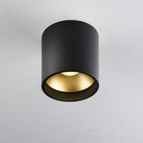 SoloRoundLoftlampeSortGuld3000KLIGHTPOINT-20