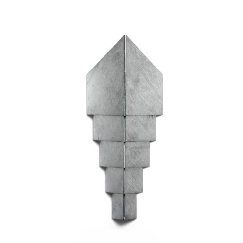 Diamond42ZinkGalvaniseretLEDVglampe-20