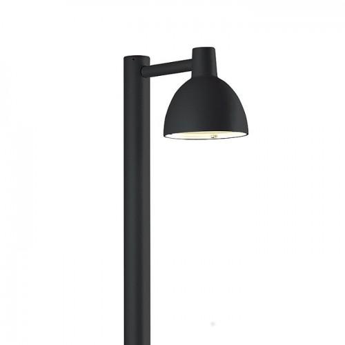 Toldbod 155 Pullert udendørs lampe Sort- Louis Poulsen