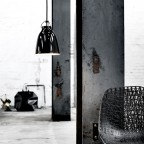 CaravaggioPendelBlankSortSortLedningP1165mm-00