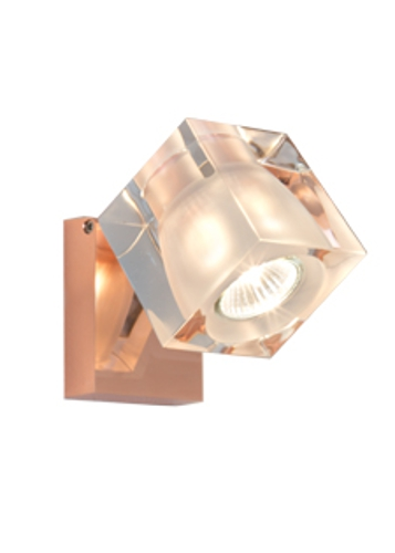 fabbian – Ice cube kobber - fabbian fra luxlight.dk