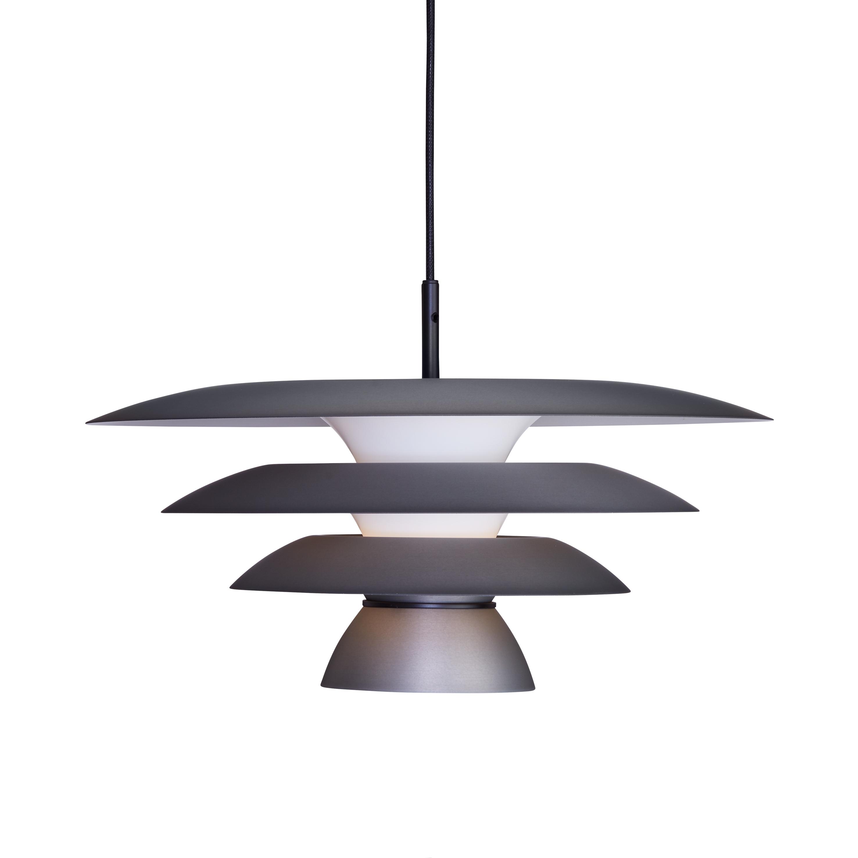 belid Davinci pendel ø430 - oxideret grå fra luxlight.dk