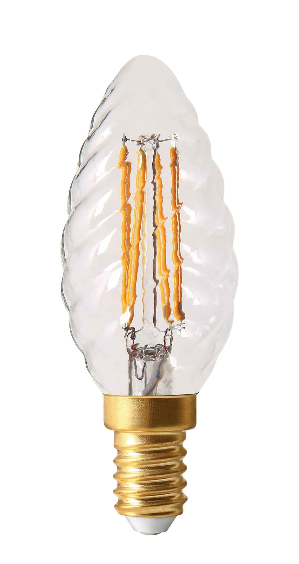 danlamp – E14 - 2,5w led krystalkerte på luxlight.dk