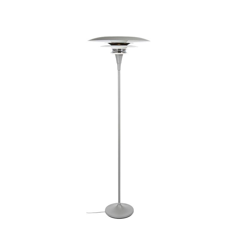 belid – Diablo ø 50 gulvlampe grå/ blank sort - belid på luxlight.dk