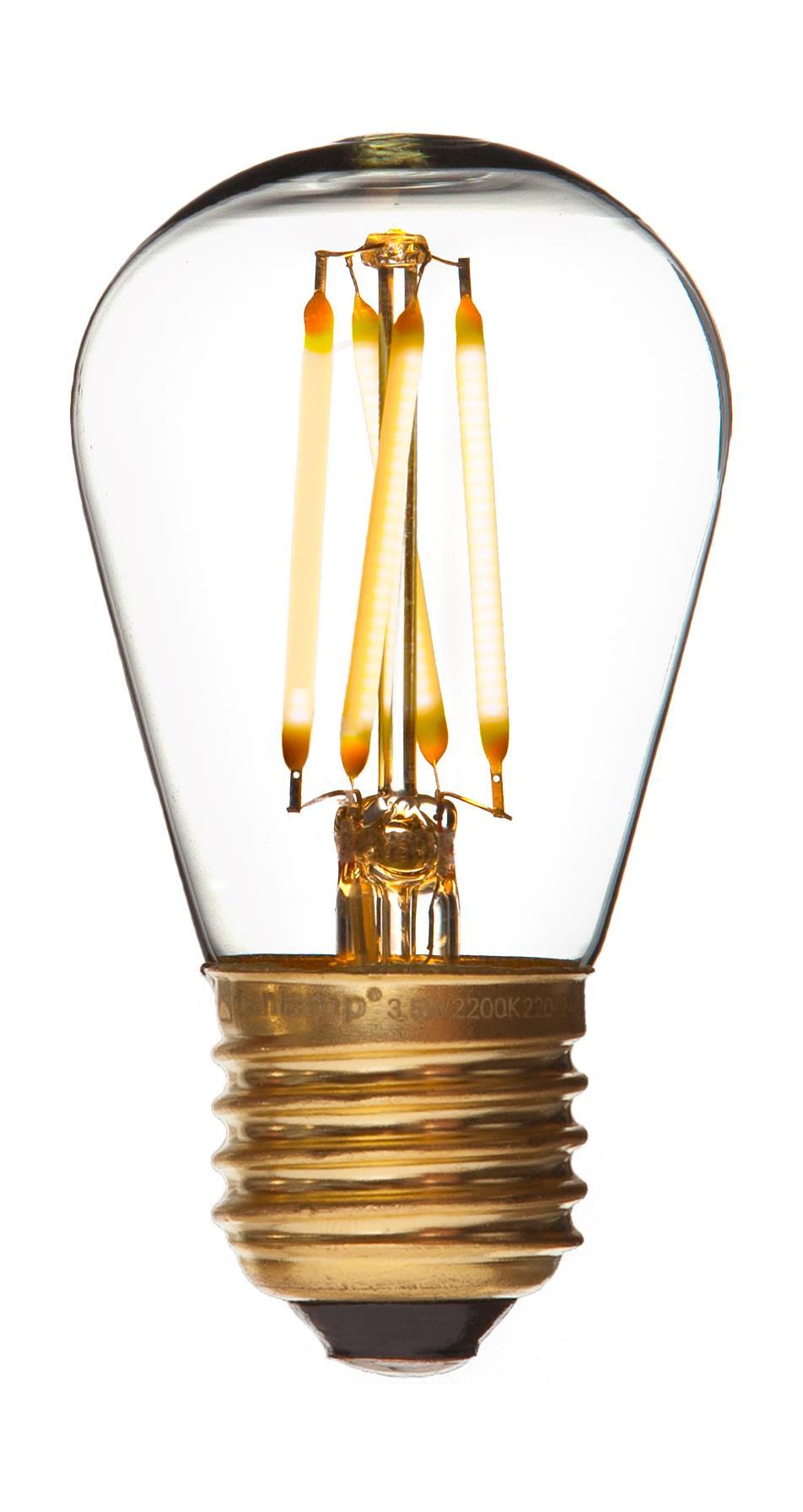 danlamp – E27 - 2,5w led mini edison fra luxlight.dk