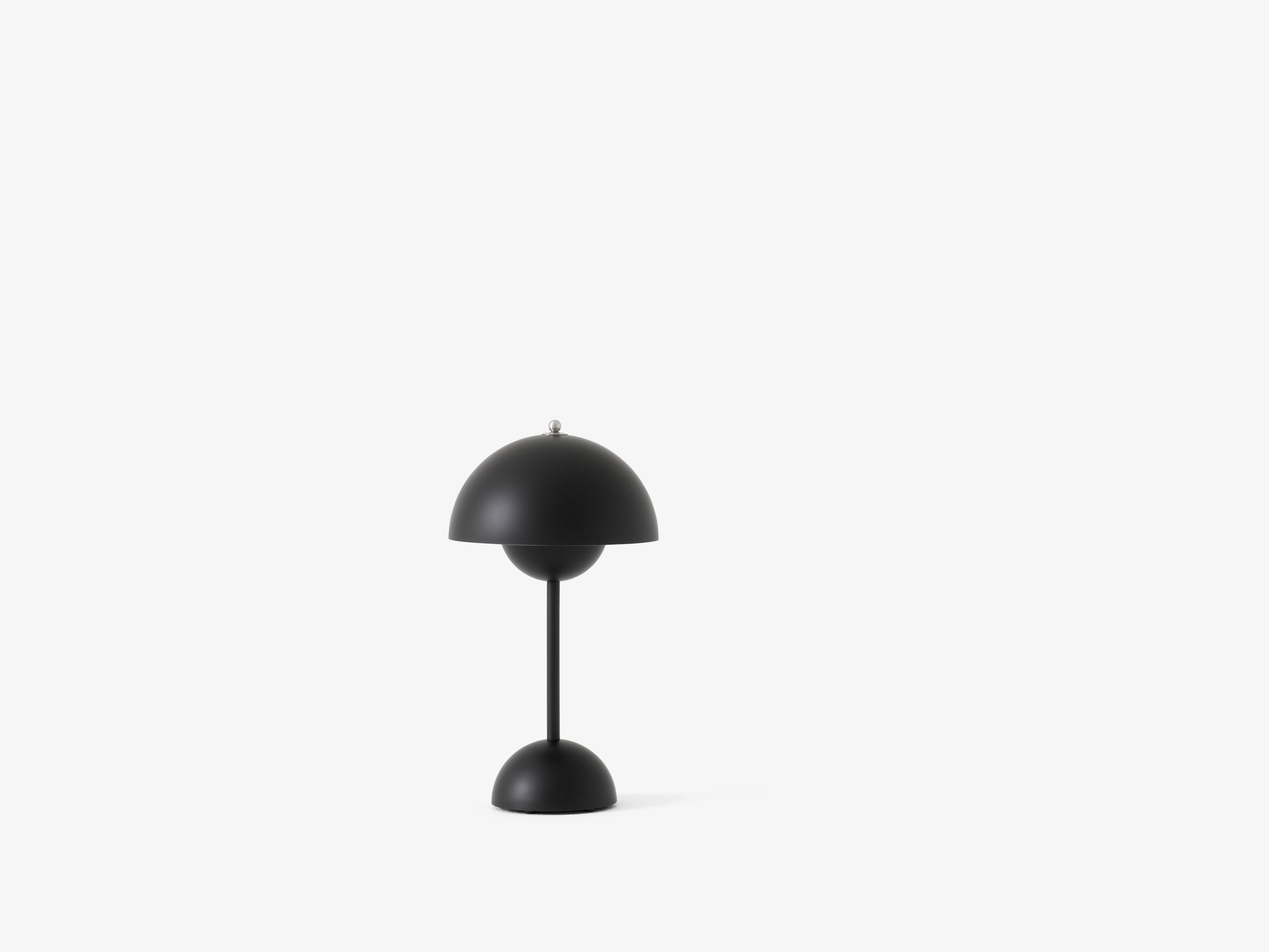 Flowerpot VP9 Bordlampe Mat Sort - &Tradition