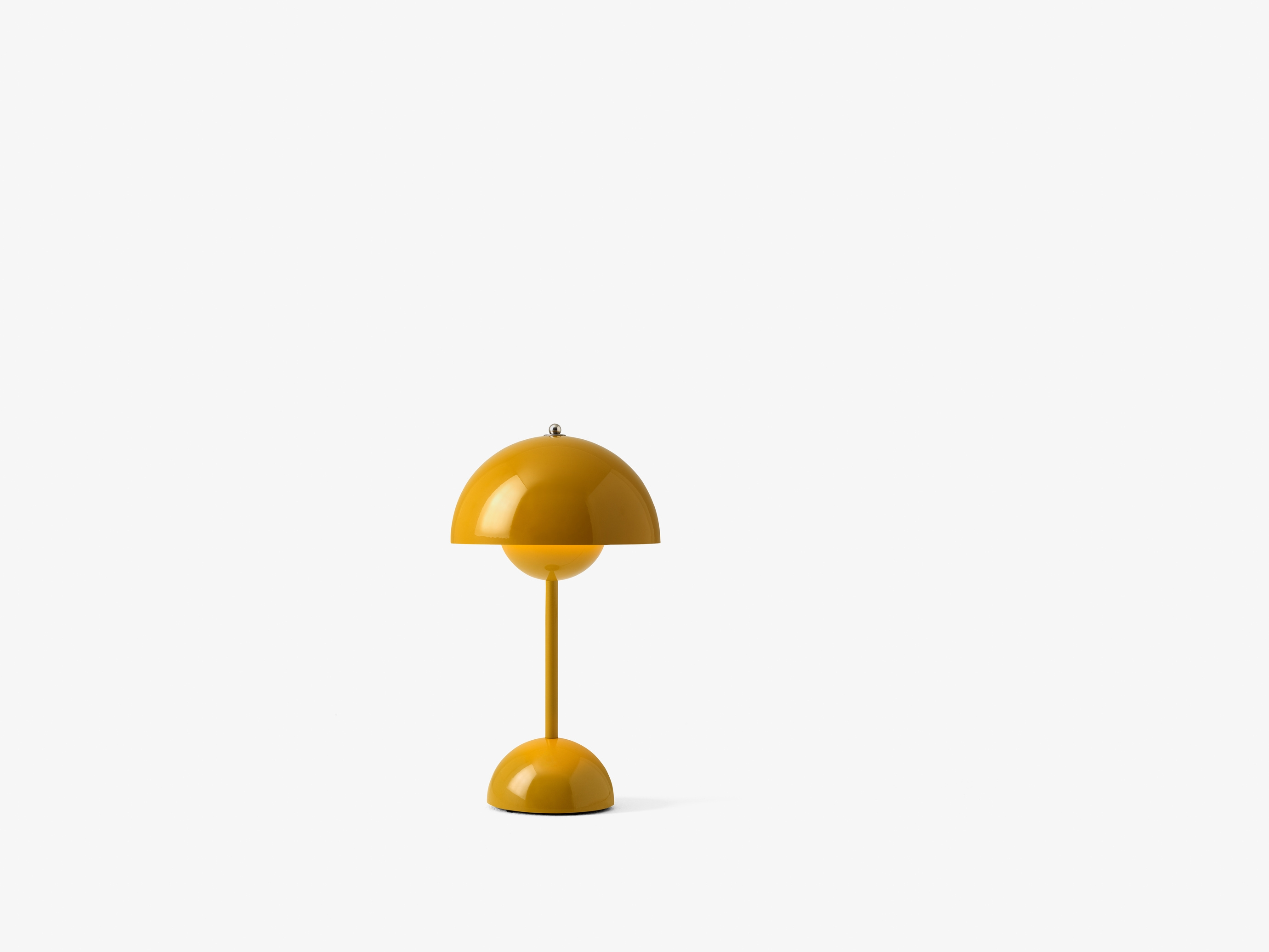 Flowerpot VP9 Bordlampe Gul - &Tradition