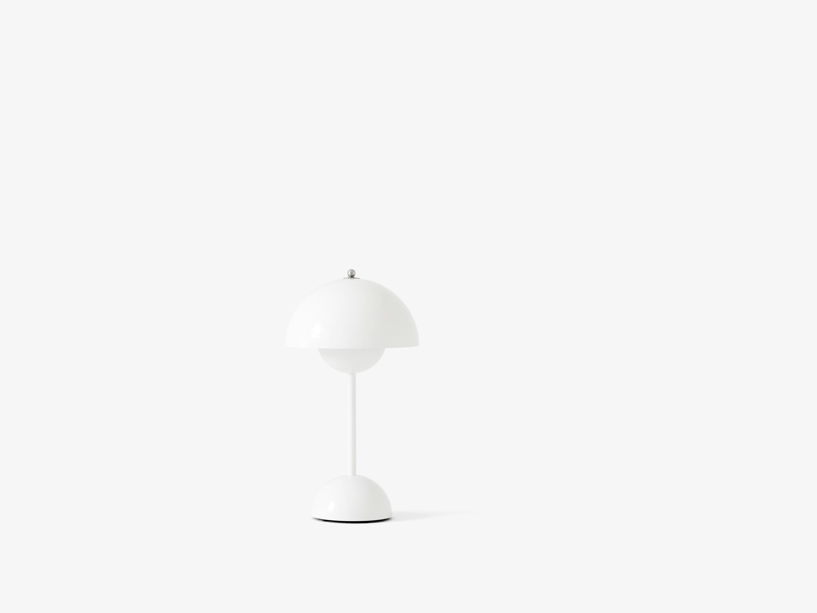 Flowerpot VP9 Bordlampe Hvid - &Tradition