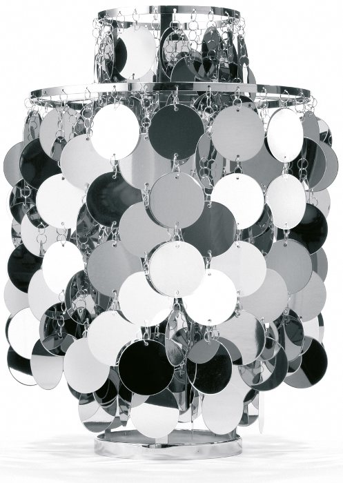 verpan Fun 2ta bordlampe krom - verpan på luxlight.dk