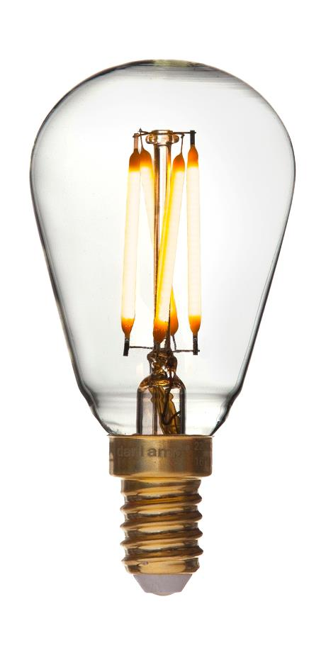 E14 - 2,5w led mini edison fra danlamp fra luxlight.dk