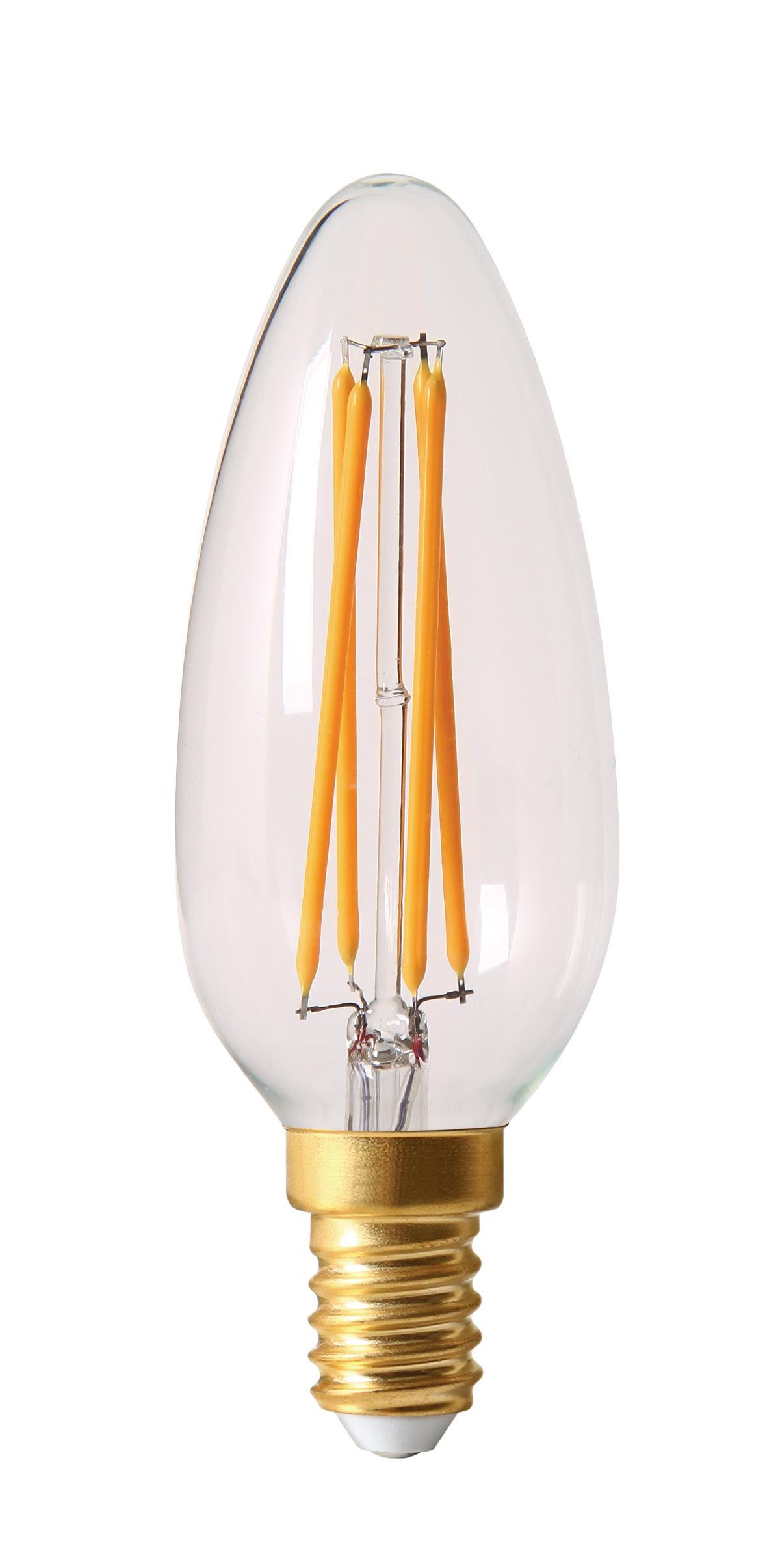 danlamp – E14 - 3,5w led kirkekerte fra luxlight.dk