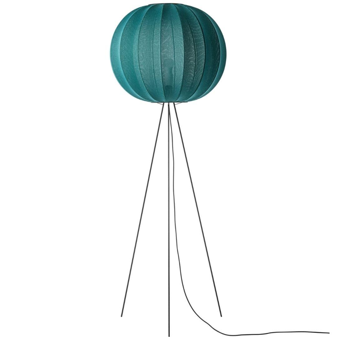 Køb Knit-Wit 60 Round Gulvlampe High Sea Grass – Made by Hand