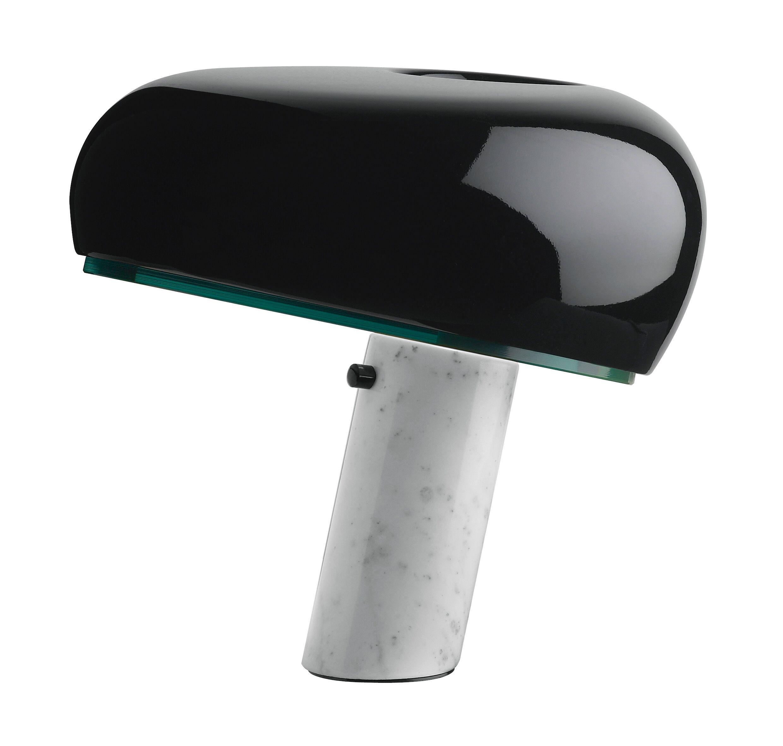 flos Snoopy touch sort bordlampe - flos fra luxlight.dk