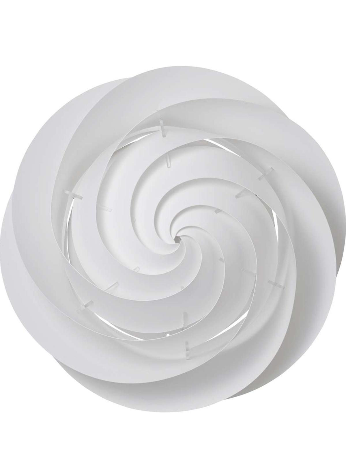 le klint – Swirl væg/loft large hvid - le klint på luxlight.dk
