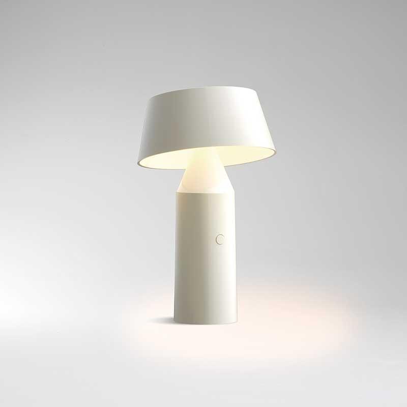 Bicoca bordlampe hvid - lampefeber fra lampefeber på luxlight.dk