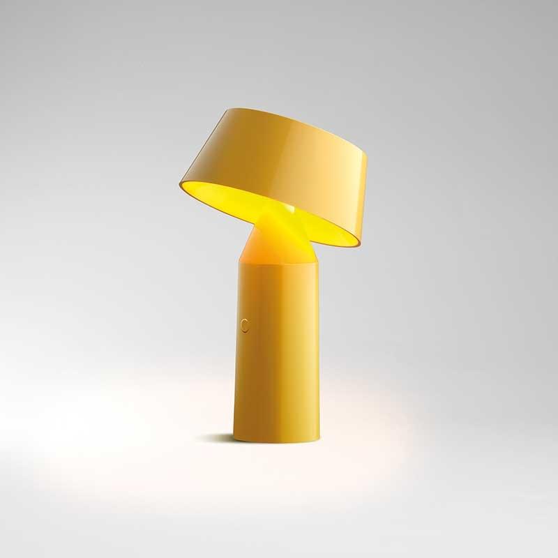 lampefeber Bicoca bordlampe gul - lampefeber fra luxlight.dk