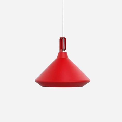 zava – Driyos 1 pendel mat rød på luxlight.dk