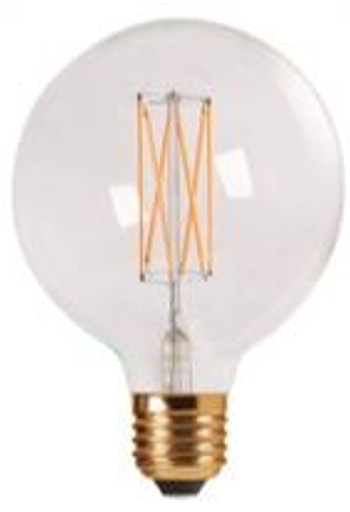 danlamp E27 - 2,5w led mega edison fra luxlight.dk