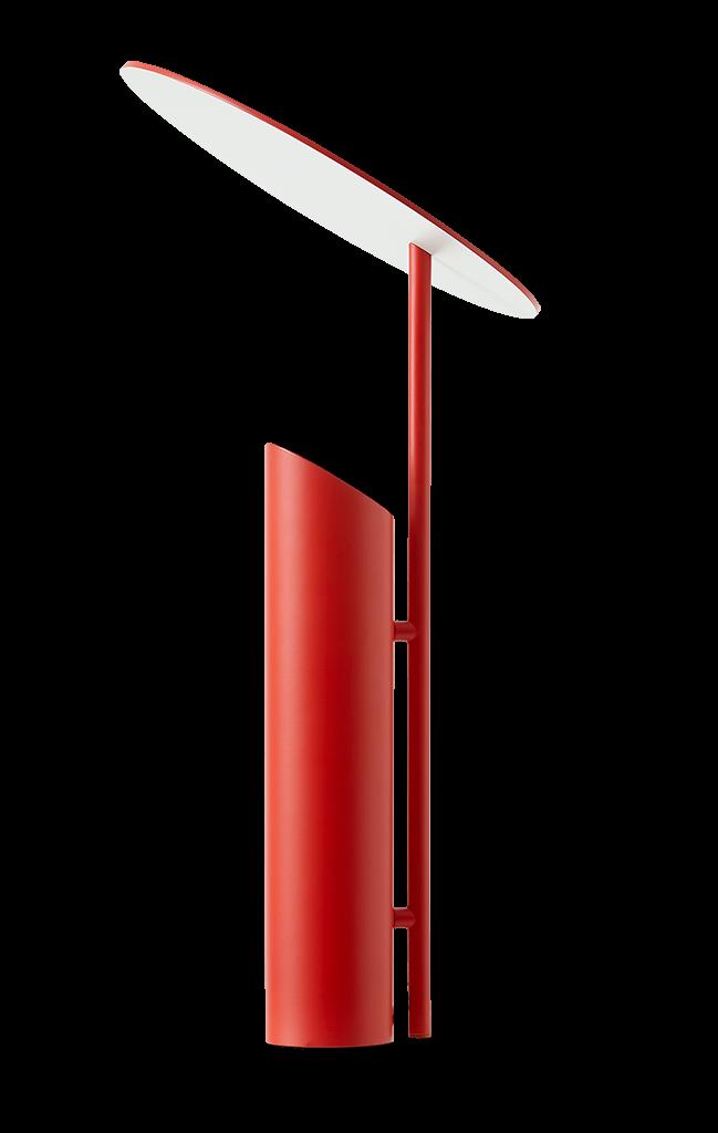 verpan – Reflect bordlampe rød - verpan på luxlight.dk