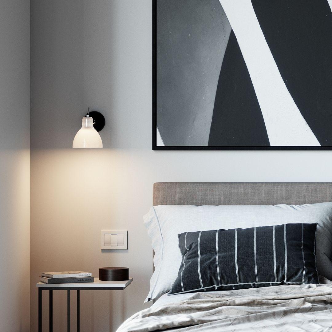 Køb Luxy Glam H0 Væg / Loftlampe Hvid – Rotaliana