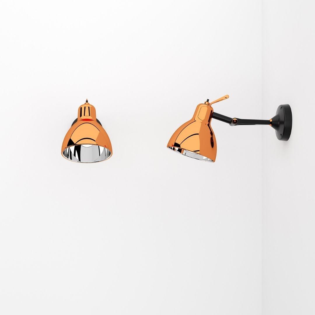 Køb Luxy Glam H0 Væg / Loftlampe Kobber – Rotaliana