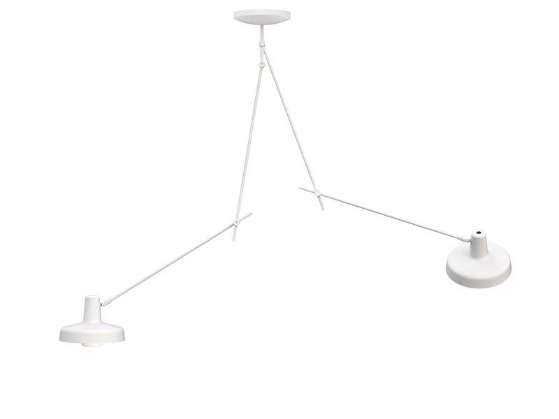 Køb Arigato Loftlampe Dobbelt Lang Hvid – Grupa Products