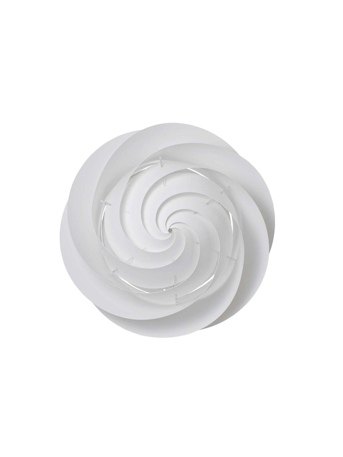 le klint – Swirl væg/loft small hvid - le klint fra luxlight.dk