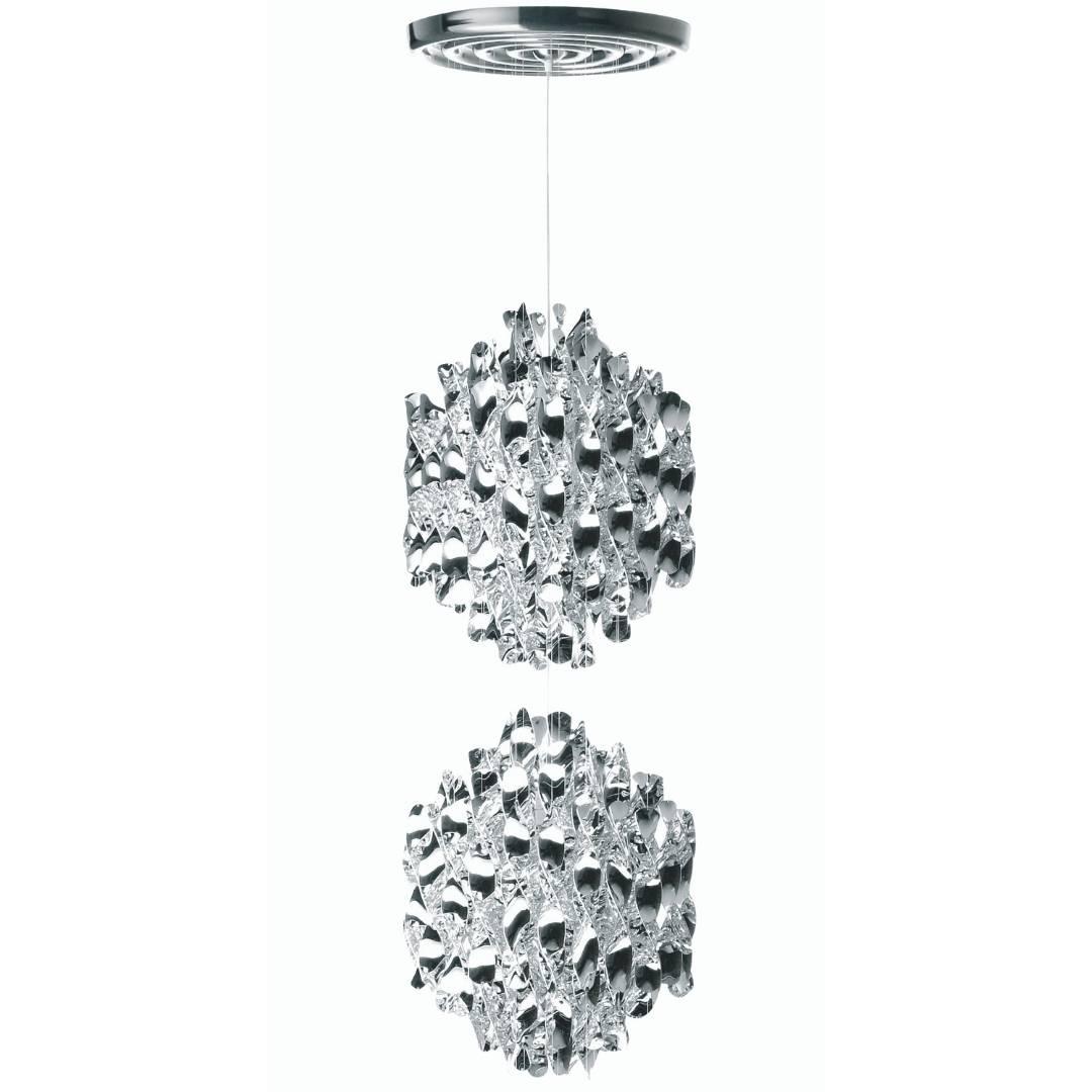 Køb Spiral Pendel SP2 Sølv m/loftplade – Verpan