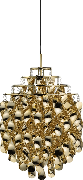 verpan – Spiral pendel sp01 guld - verpan på luxlight.dk