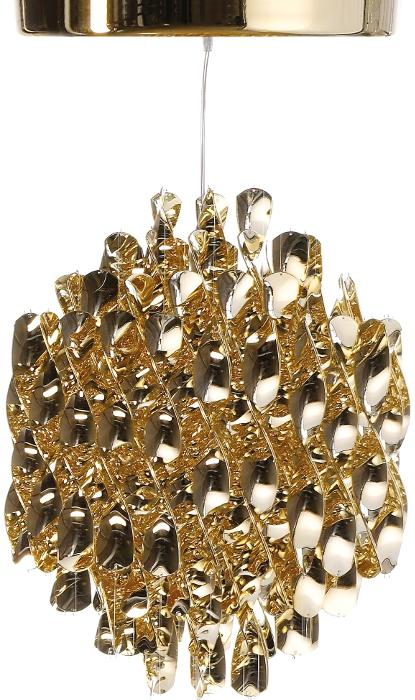 verpan – Spiral pendel sp1 guld m/loftplade - verpan fra luxlight.dk