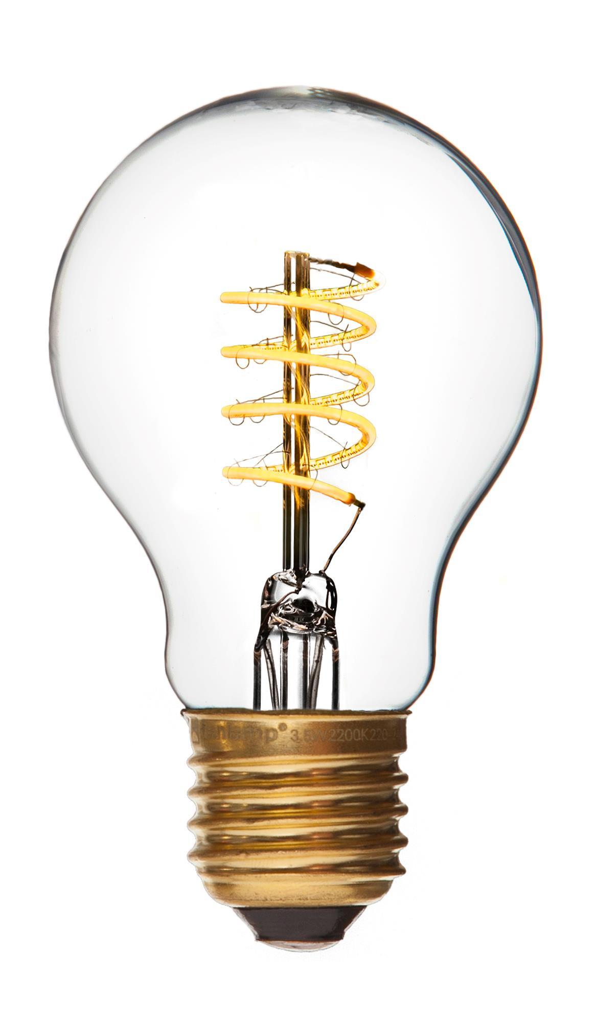Billede af E27 - 4W LED Standard De Luxe Spiral