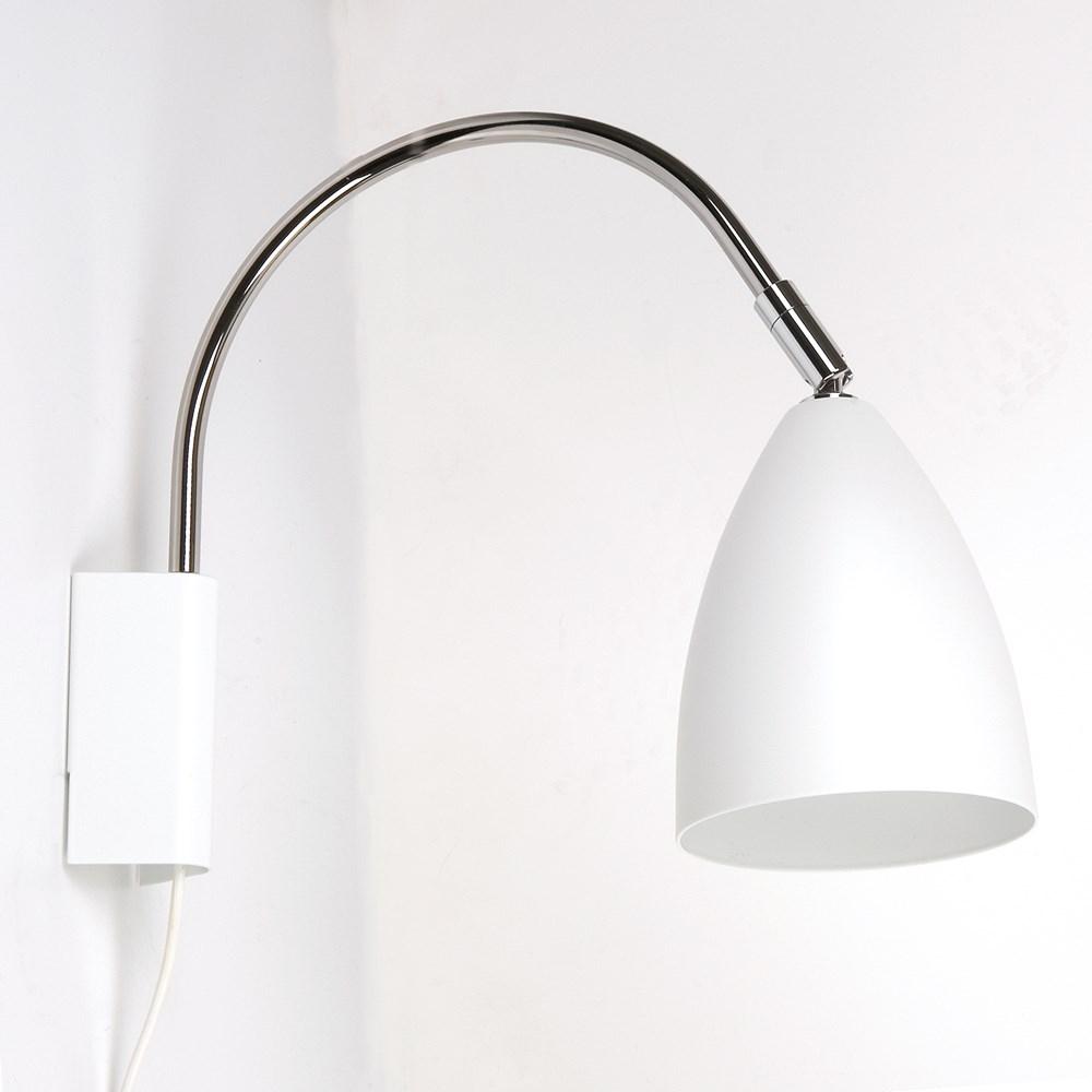 Sway væg hvid udstillingsmodel - belid - før: 799,- fra belid fra luxlight.dk