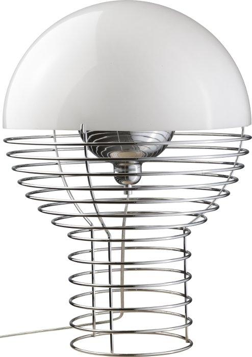 verpan – Wire bordlampe hvid ø40 - verpan på luxlight.dk