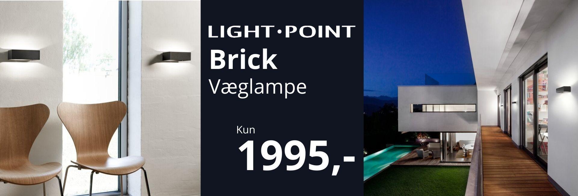 Light-Point Brick Tilbud